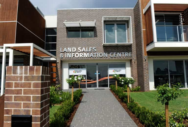 Gregory Hills Land Sales and Information Centre